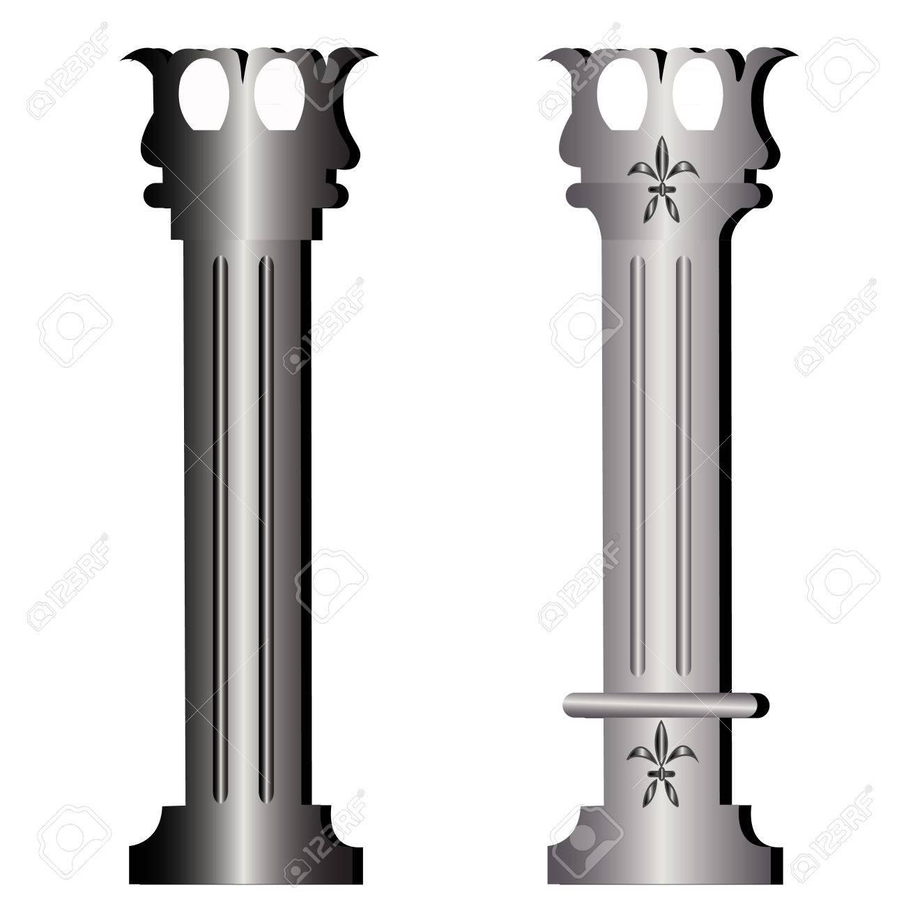 Columns ancient greek historic building Stock Vector - 12379721