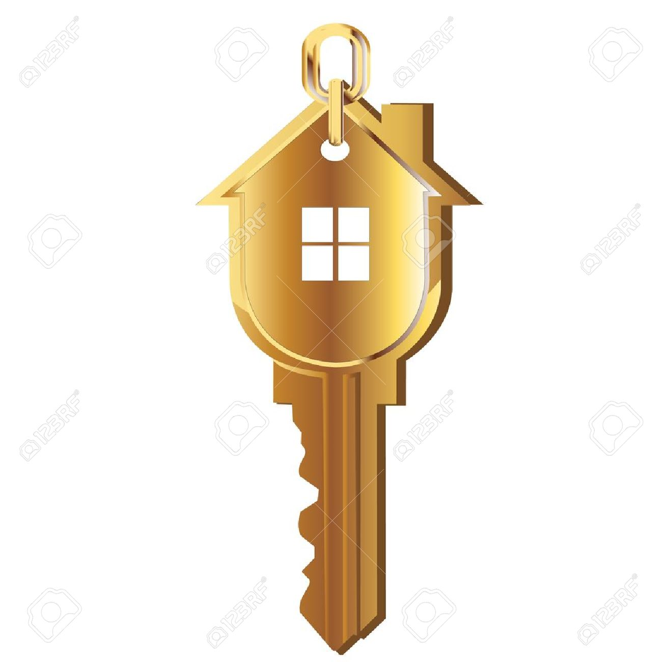 gold house key. House Key Gold Real Estate Logo Stock Vector - 12490888 O