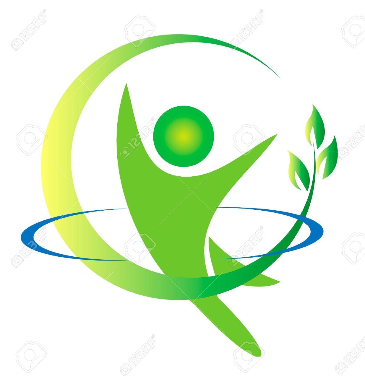 Health nature logo Stock Vector - 13643141