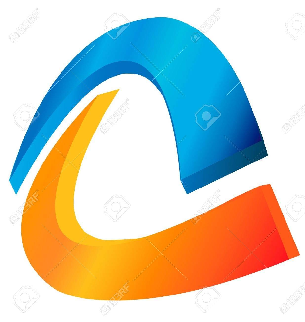 Abstract logo - 13975524