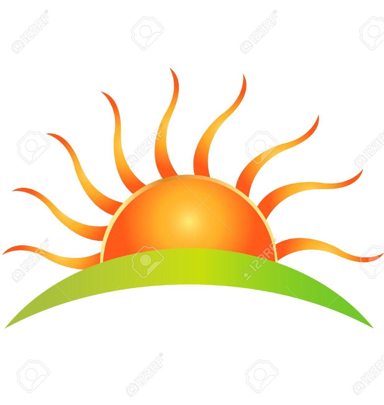sun logo royalty free cliparts vectors and stock illustration rh 123rf com Half Sun Clip Art Vector free vector halftone dots ai