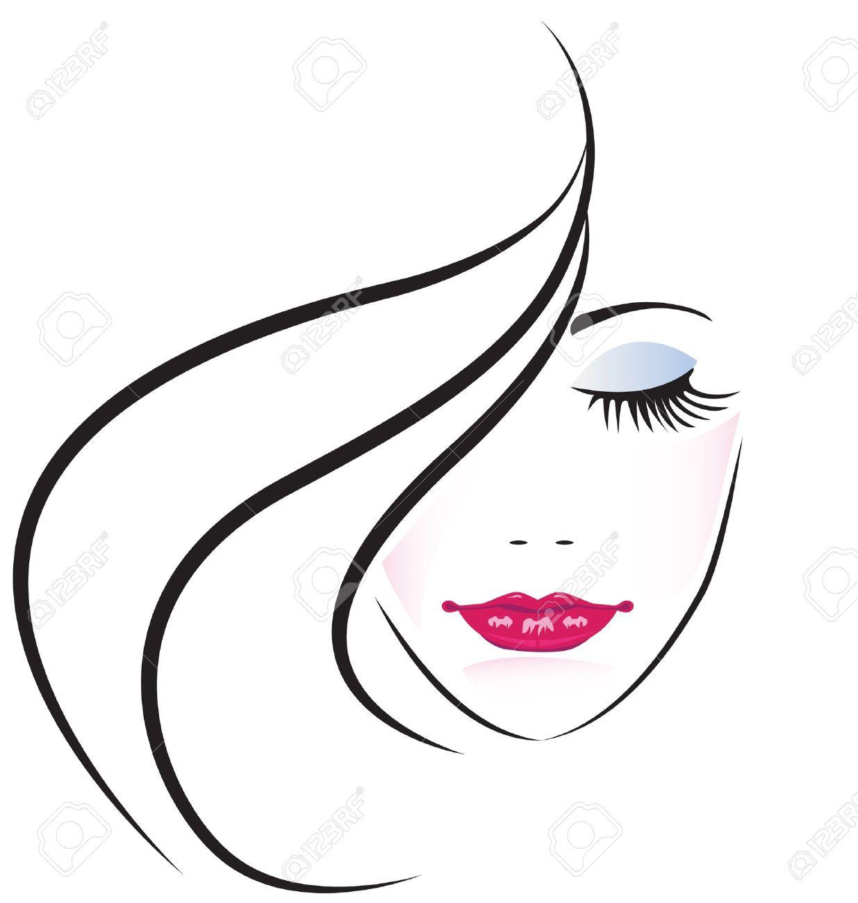 Woman Silhouette Logo Woman Silhouette Logo