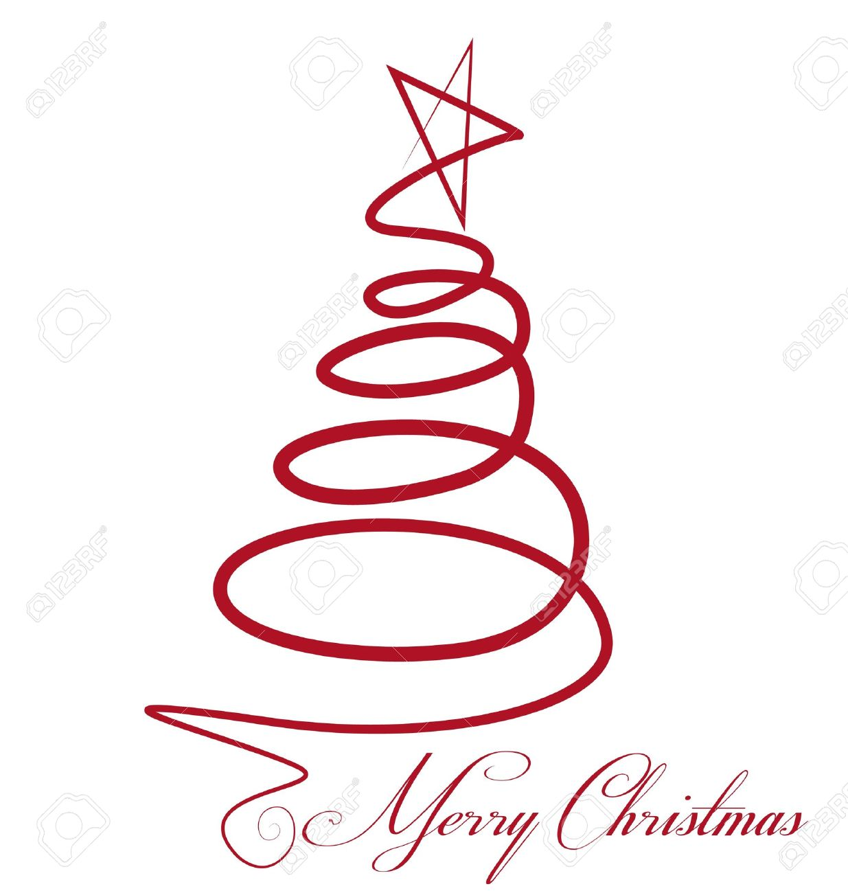 Christmas Tree Vector Stock Vector   16220120