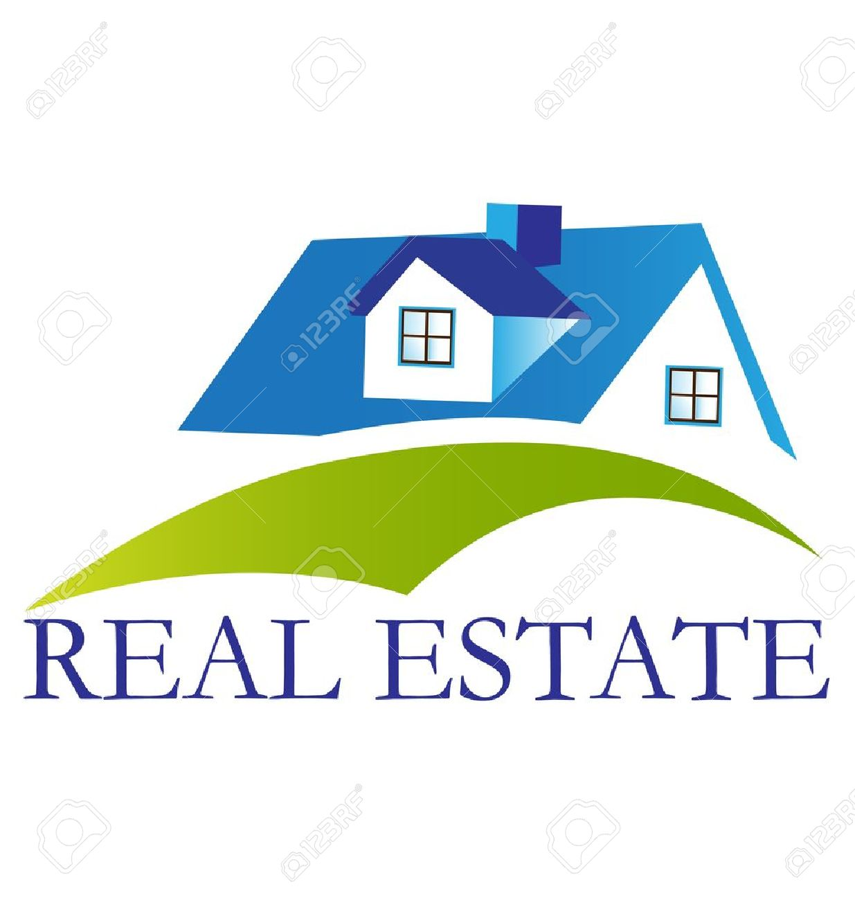 Real Estate House Logo Vector Royalty Free Cliparts, Vectors, And ...