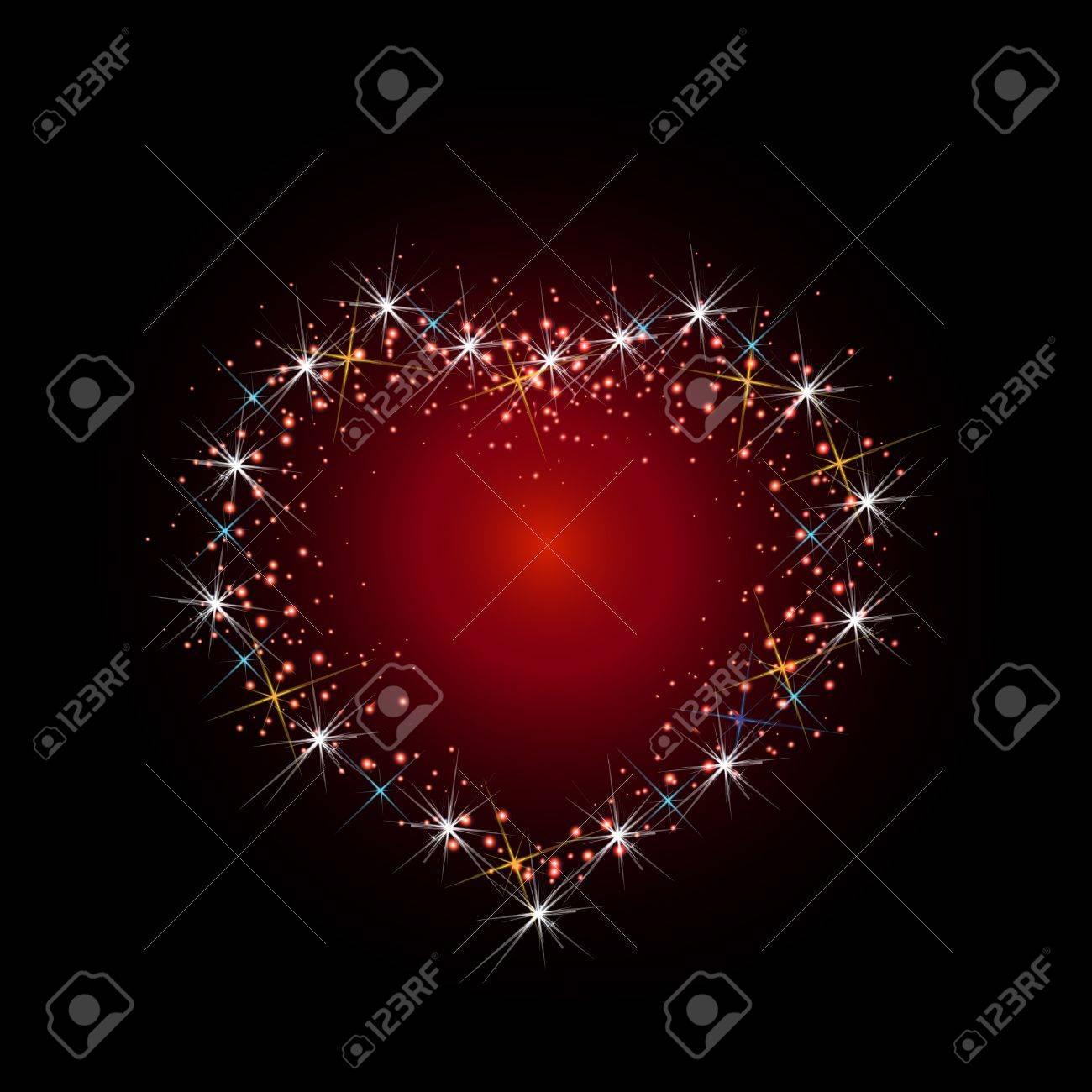 Constellation of love illustration Stock Vector - 21454370
