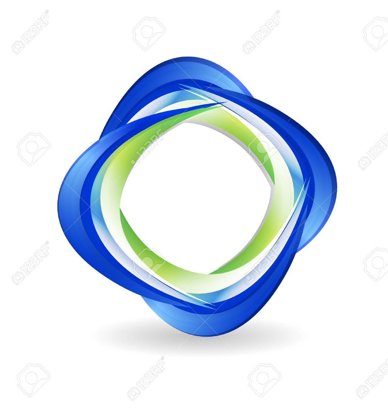 Abstract business icon vector Stock Vector - 23041678