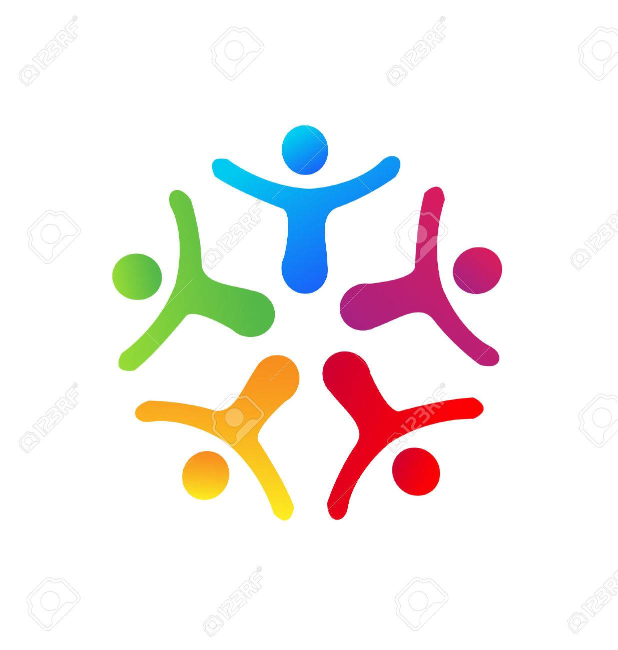 People union icon vector Stock Vector - 23200487