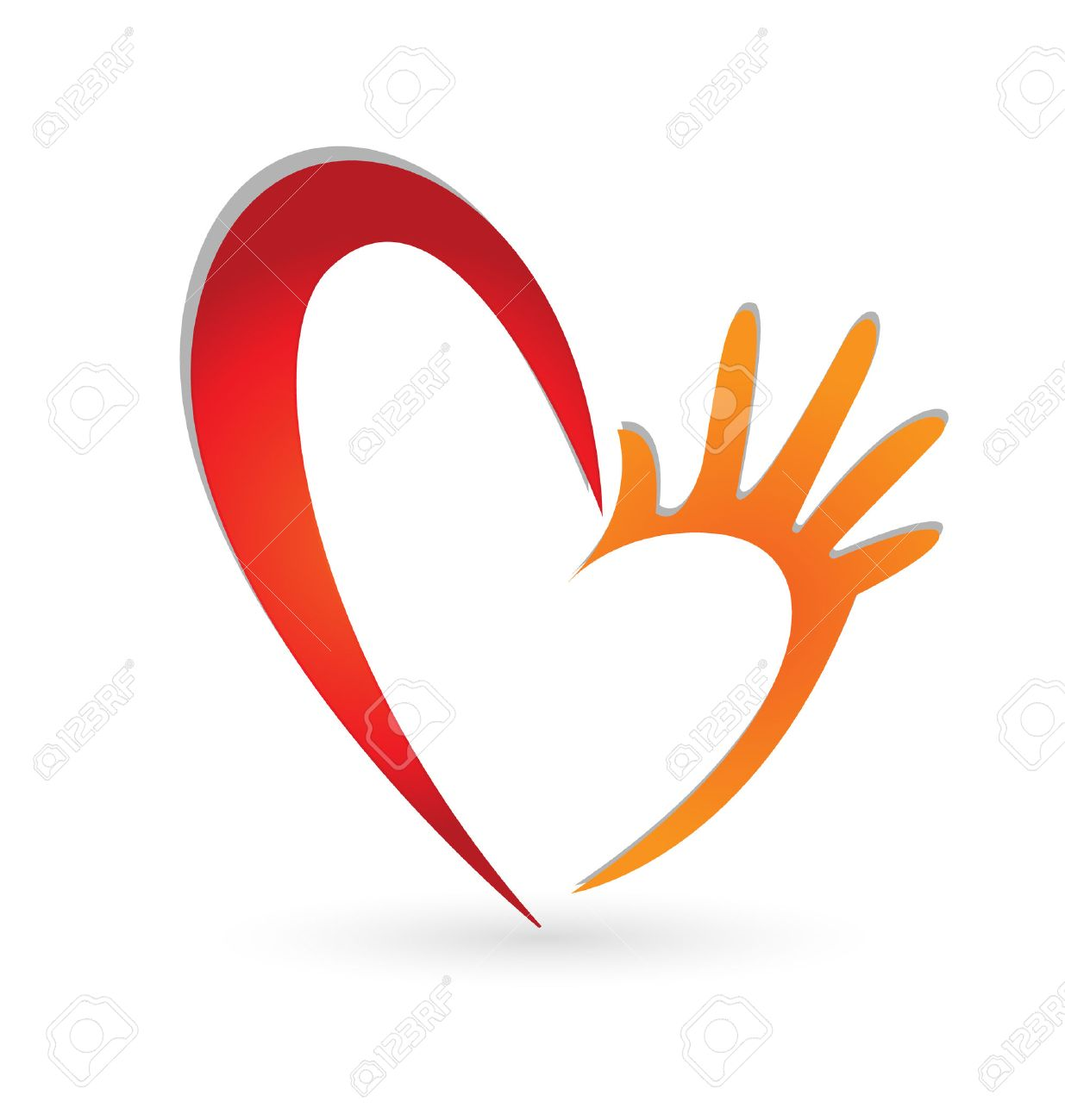 Heart Heart Hands Icon