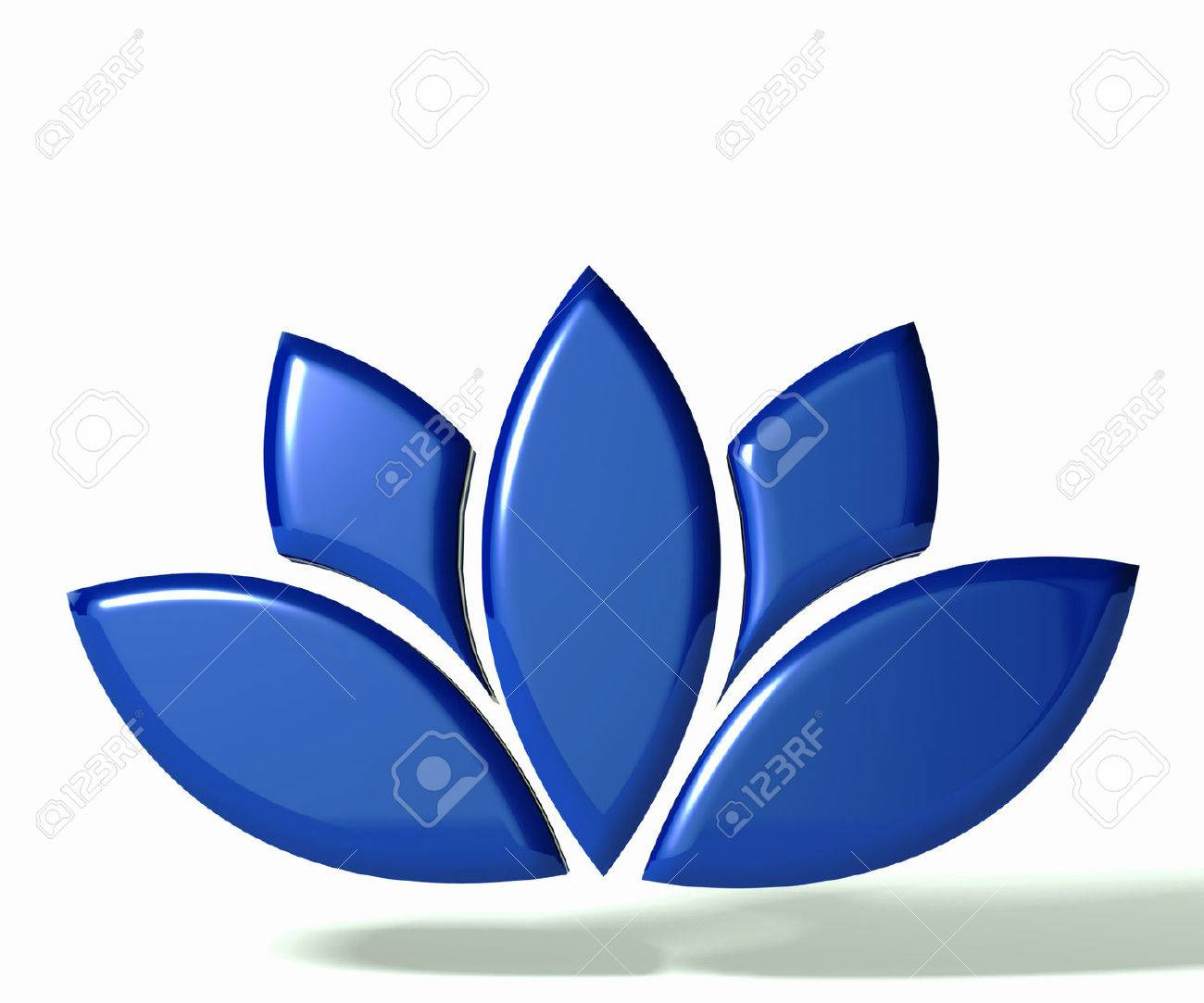 Blue lotus flower 3d image stock photo picture and royalty free blue lotus flower 3d image stock photo 25327112 mightylinksfo