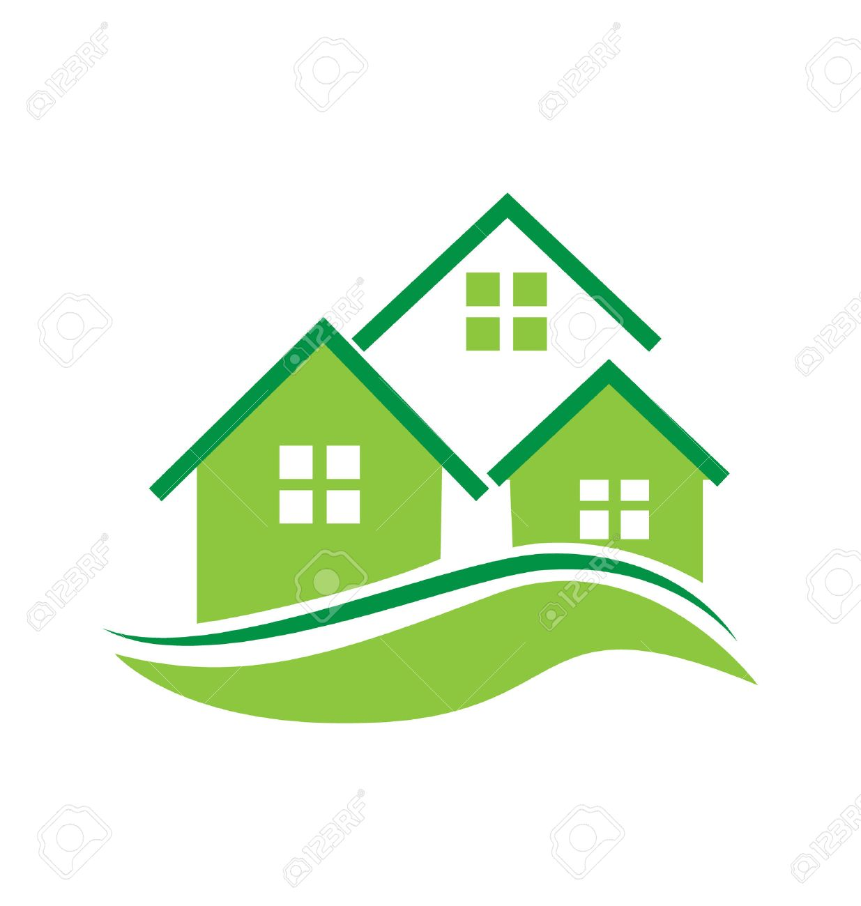 green houses vector icon royalty free cliparts vectors and stock rh 123rf com house vector free house vector black