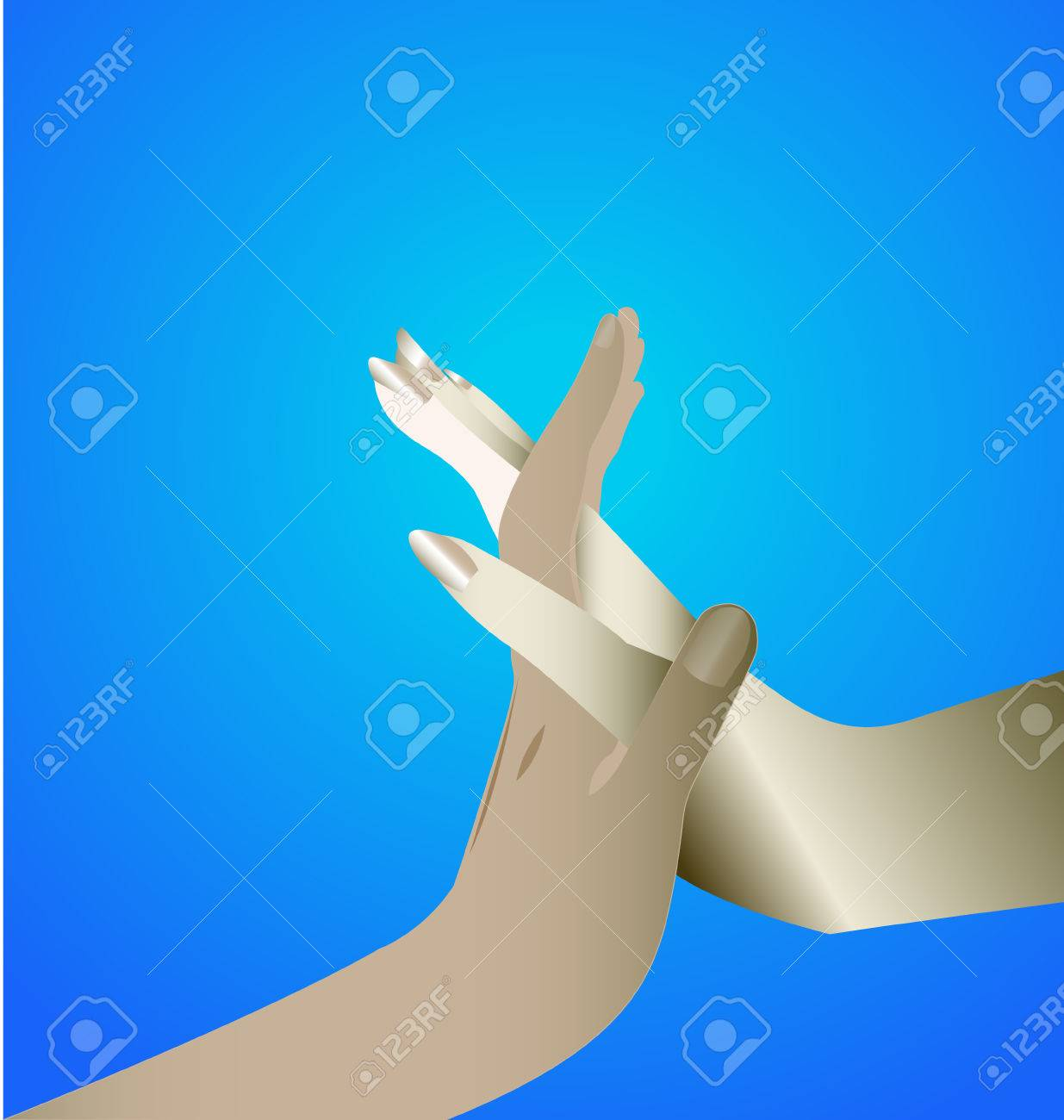 Hands Unity Symbol Icon Royalty Free Cliparts Vectors And Stock Illustration Image 29760508