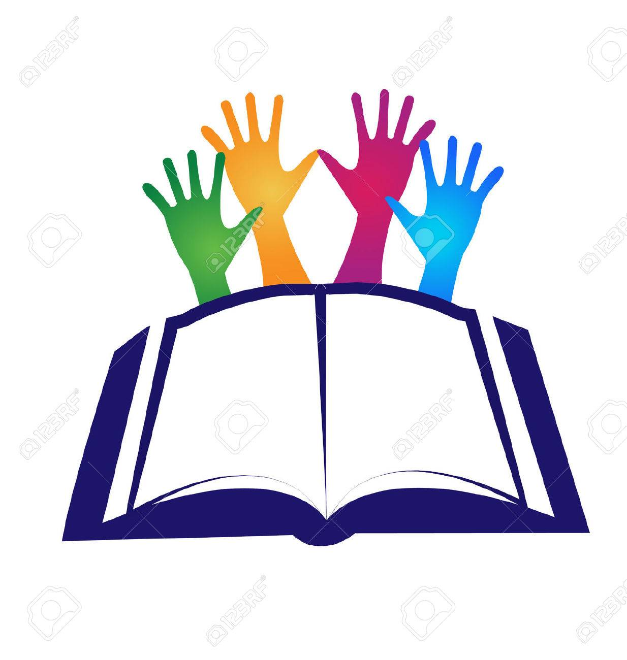 Concepto De Diseño Icono De Vector Plantilla Educación Libro ...