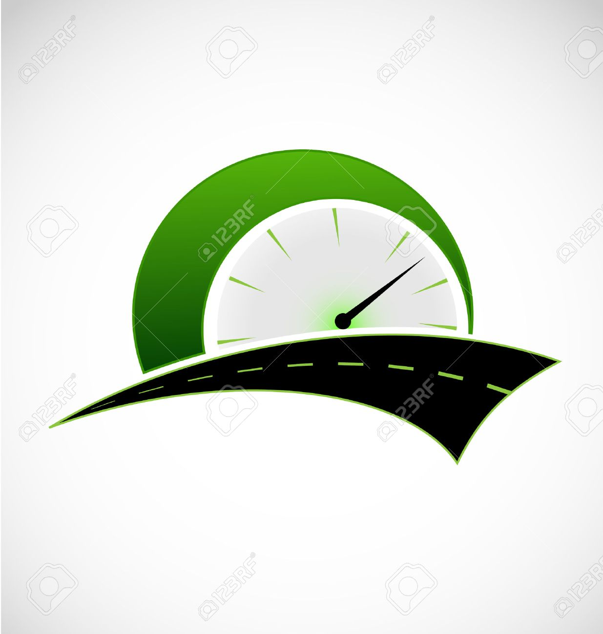 Speed Odometer And Road Logo Royalty Free Cliparts Vetores E Ilustracoes Stock Image 38927489