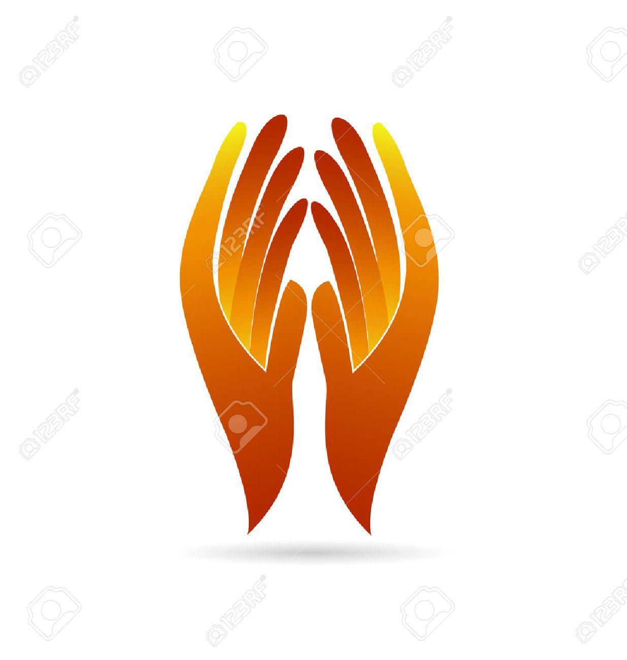 Hopeless hands faith concept identity business card vector icon faith concept identity business card vector icon logo imagens 40132718 reheart Images