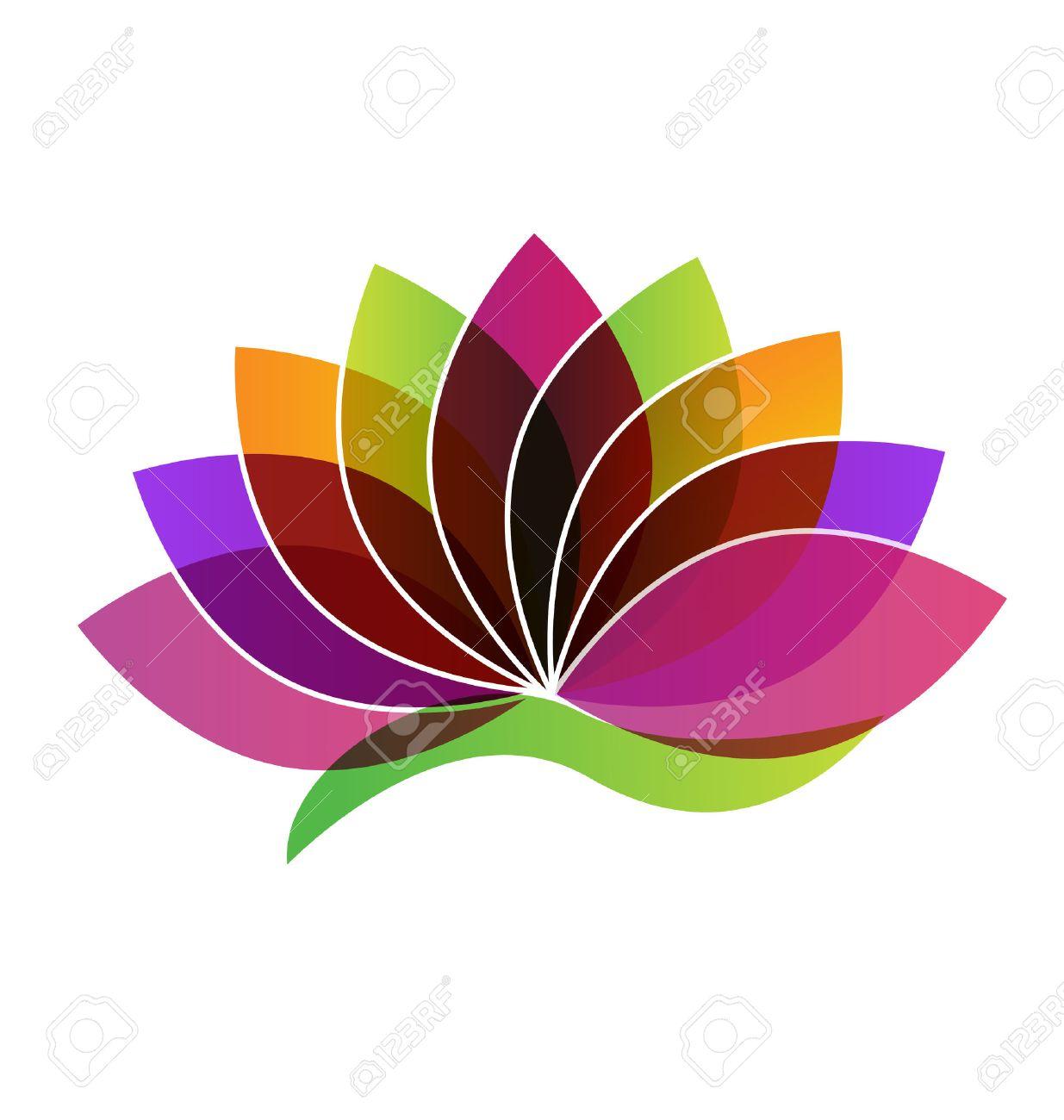 Lotus flower identity card logo vector royalty free cliparts lotus flower identity card logo vector stock vector 46222998 mightylinksfo
