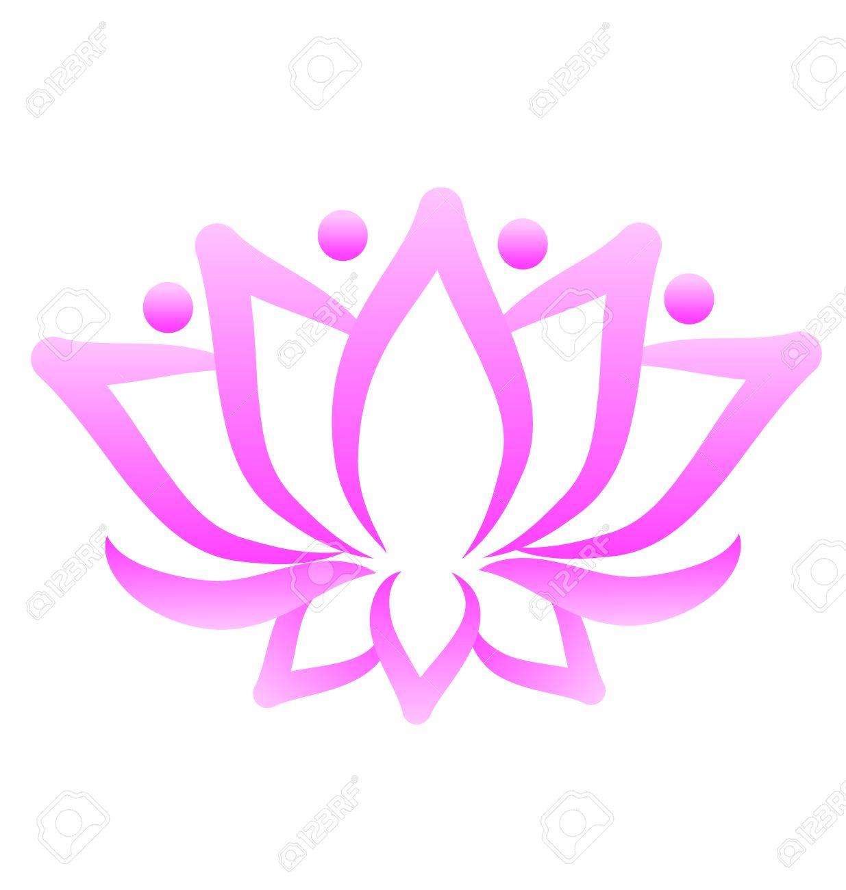 Lotus flower logo vector royalty free cliparts vectors and stock lotus flower logo vector stock vector 49922579 mightylinksfo
