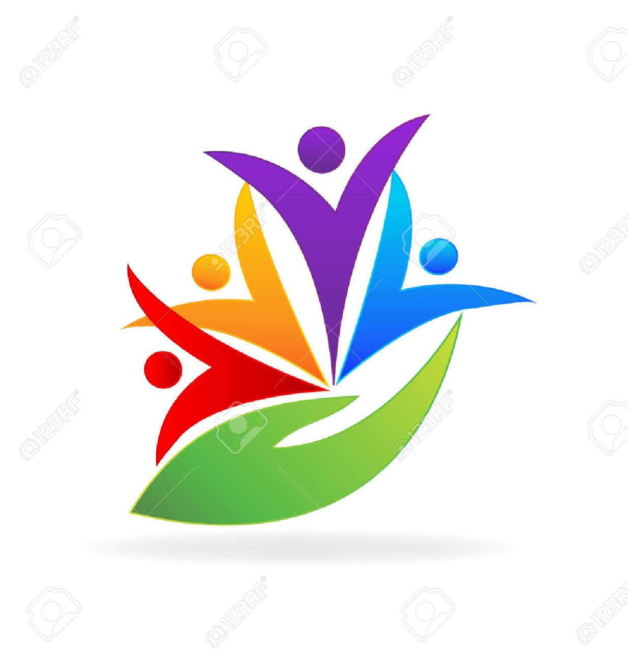 People care. Concept of medical business partners friendship union teamwork icon design - 55072647