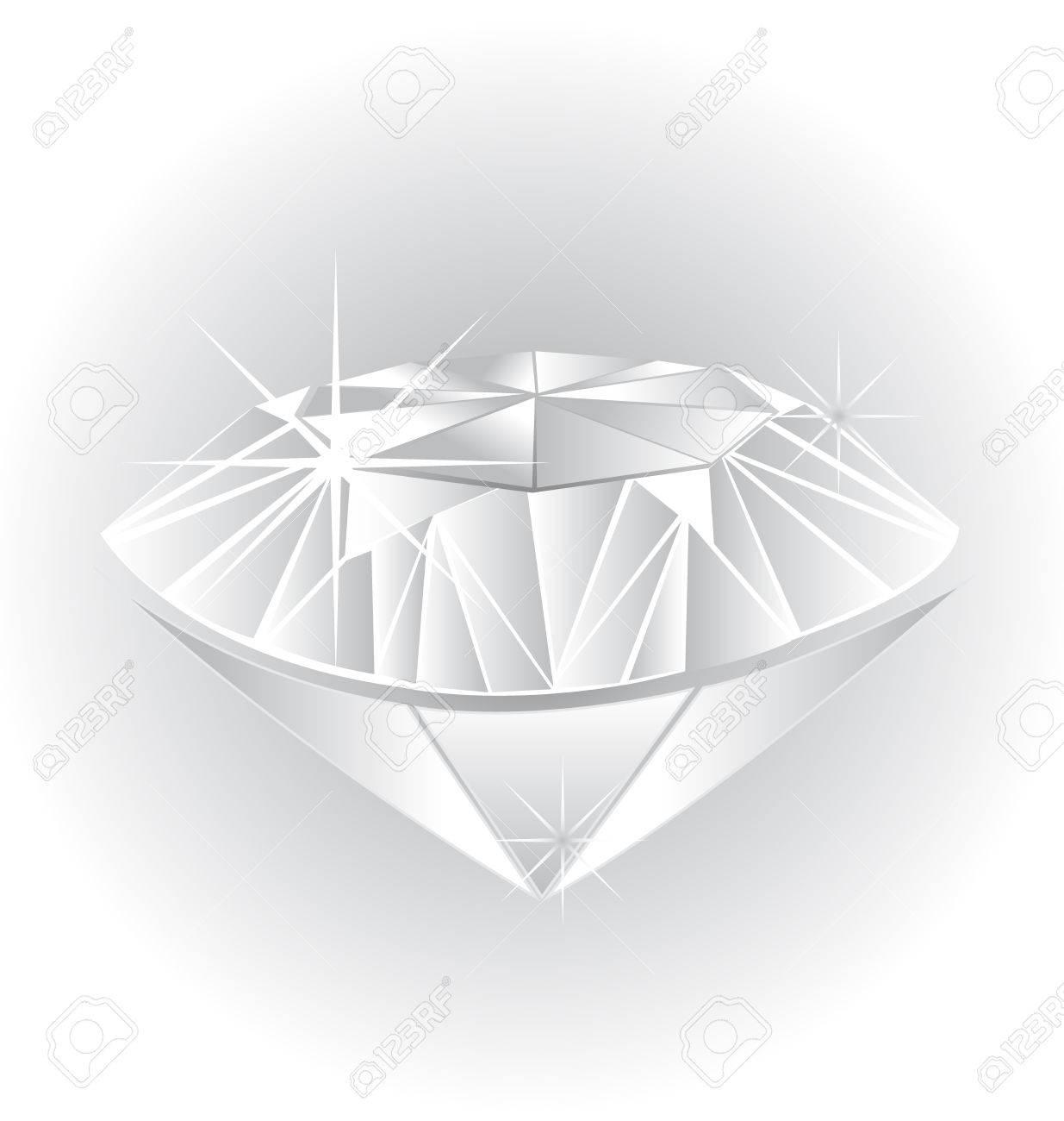 Diamond illustration - 57119390