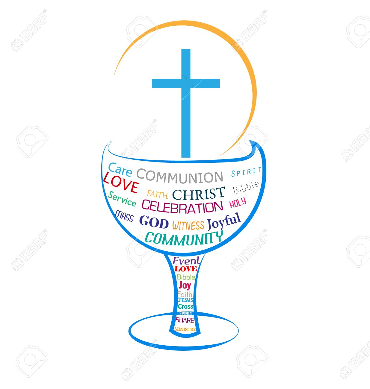 Eucharist Holy Communion Symbol Royalty Free Cliparts Vectors And