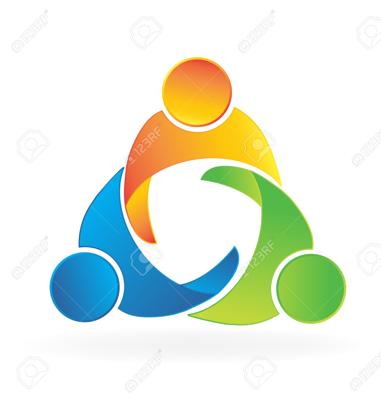 teamwork business trial partners people holding hands logo icon rh br 123rf com Hands Holding Heart Logo People Holding Hands Logo