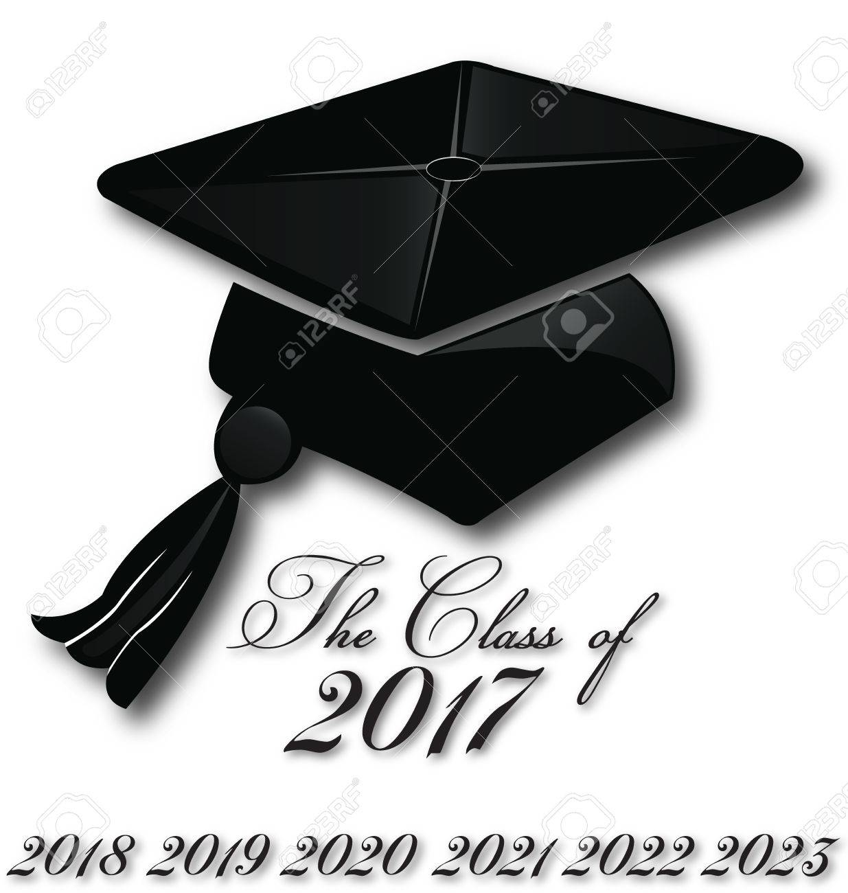 Graduation Hat 2020.Graduation Hat For The Class Of 2017 2018 2019 2019 2020 Icon