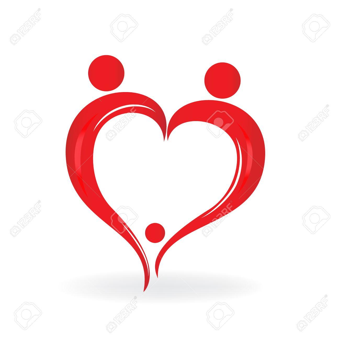 Family love heart symbol logo vector royalty free cliparts family love heart symbol logo vector stock vector 77388855 biocorpaavc Gallery
