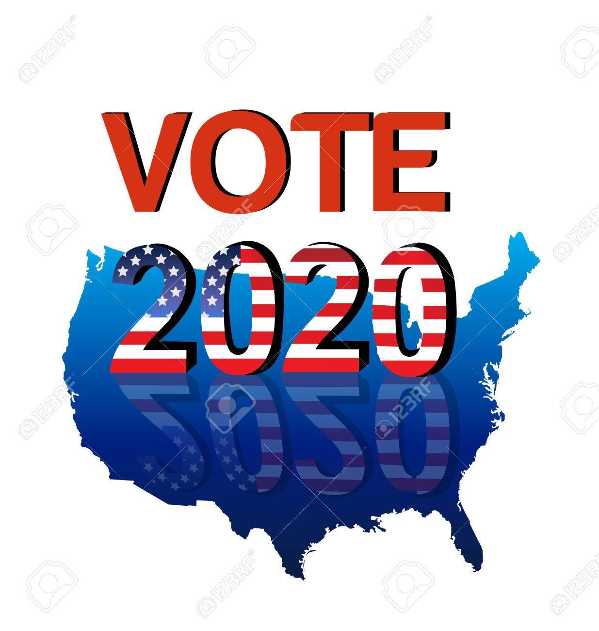 Risultati immagini per usa vote 2020