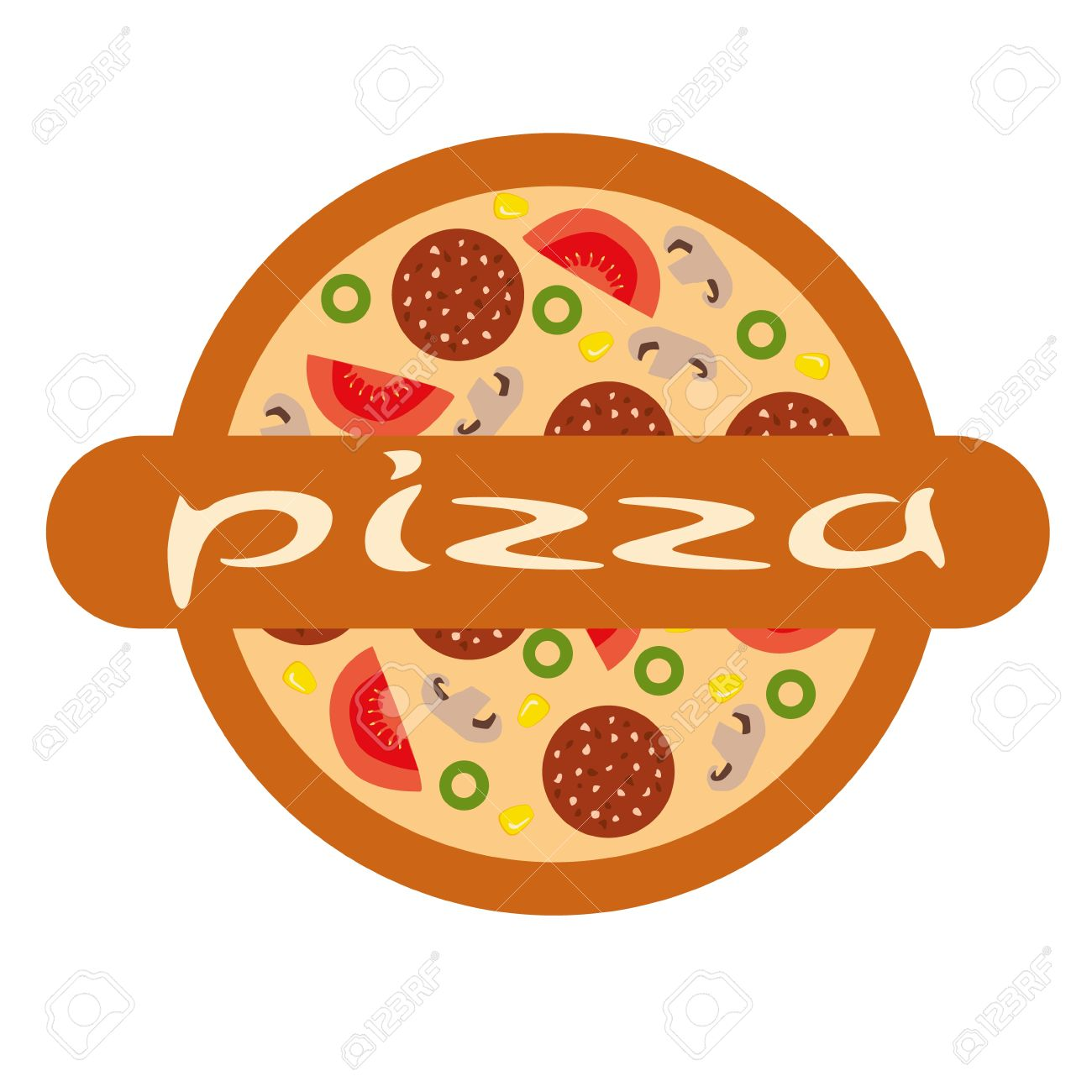 2,640 Pizza Logo Stock Illustrations, Cliparts And Royalty Free ...