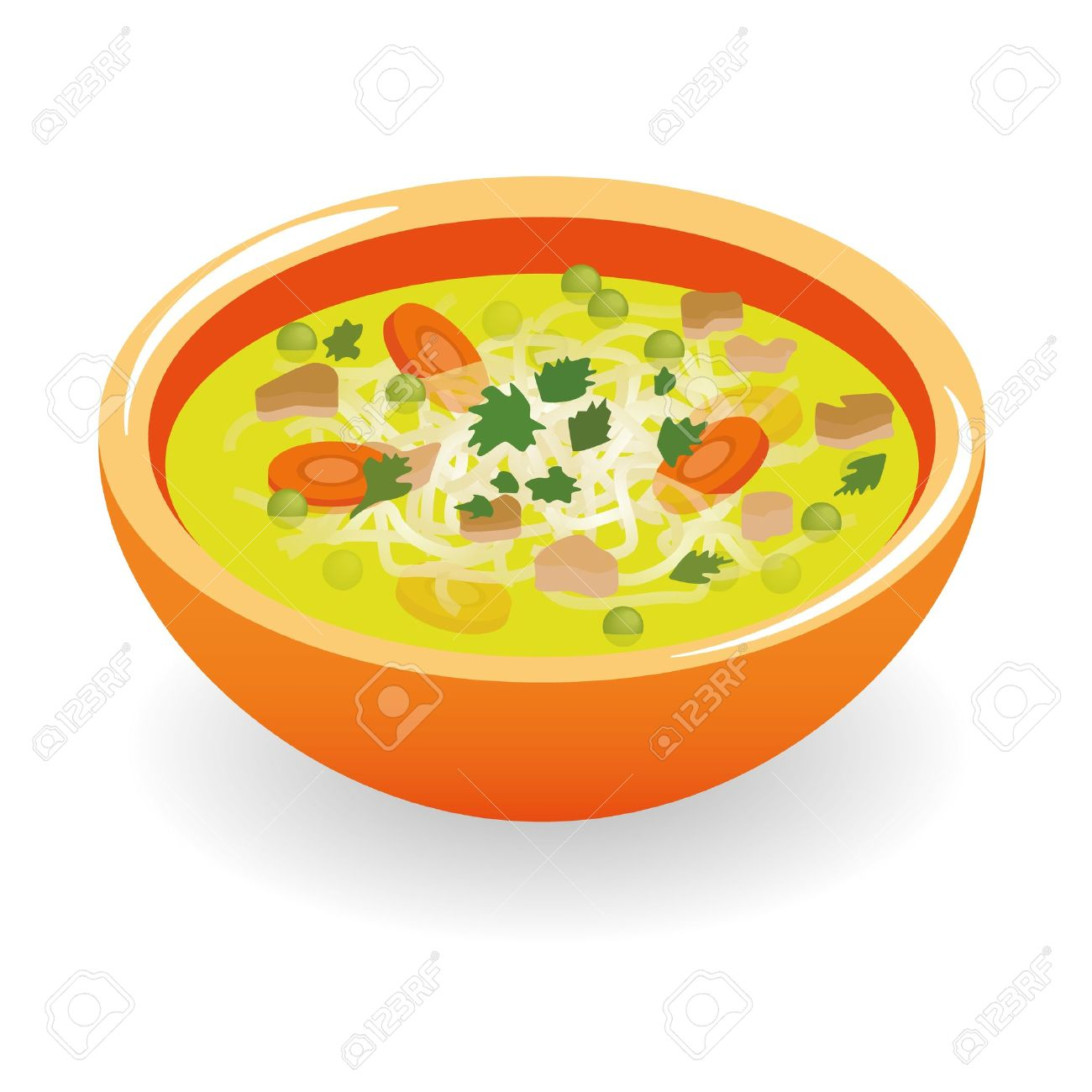 beef broth soup - 15893091