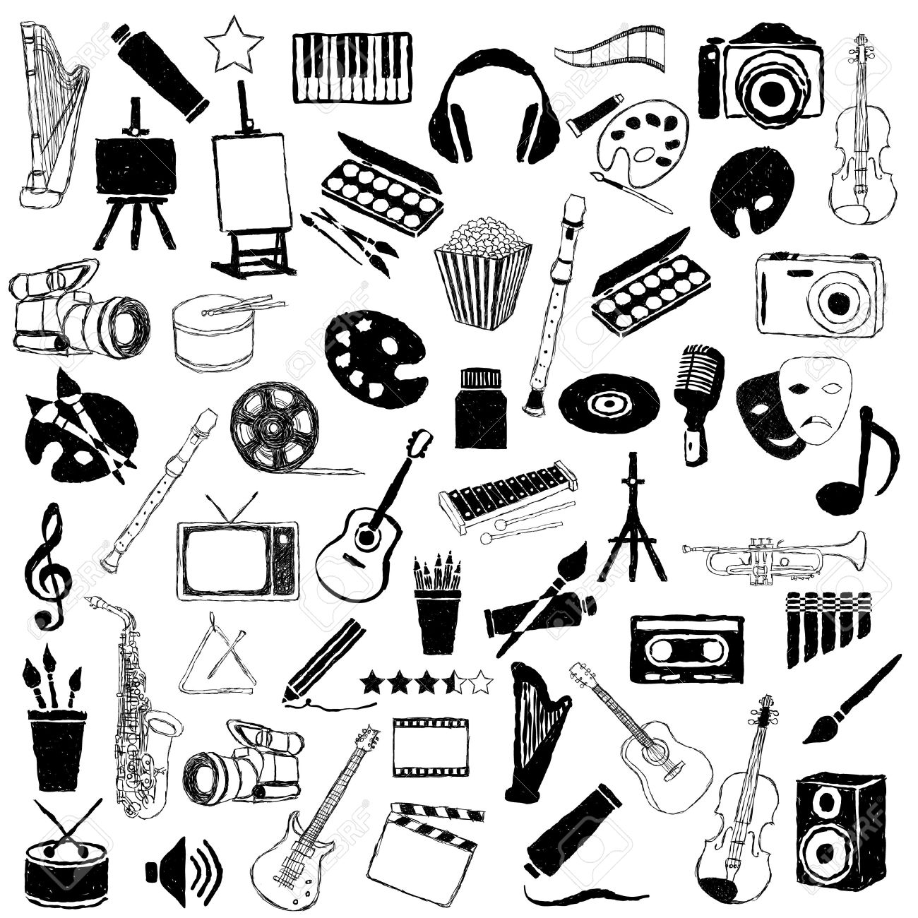 big doodle art pictures collection - 16246333