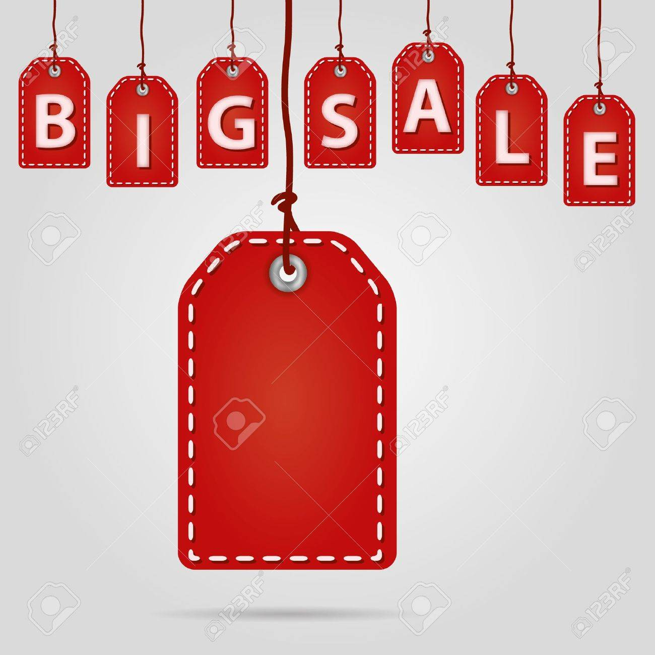 red sale labels - 16463727