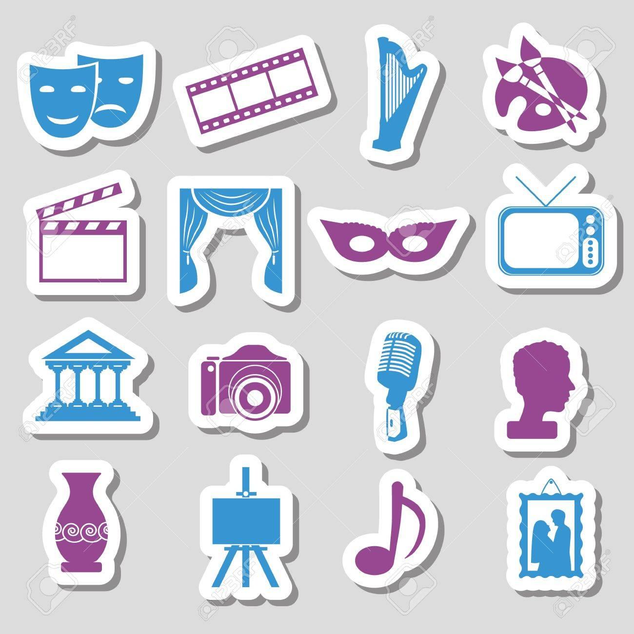 culture stickers - 17211669