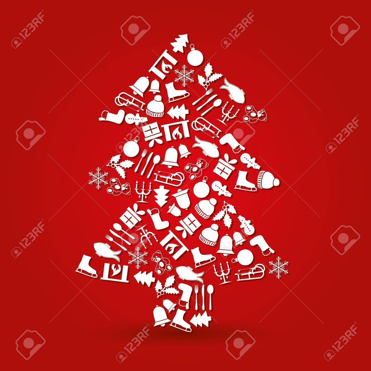 christmas tree Stock Vector - 21850912