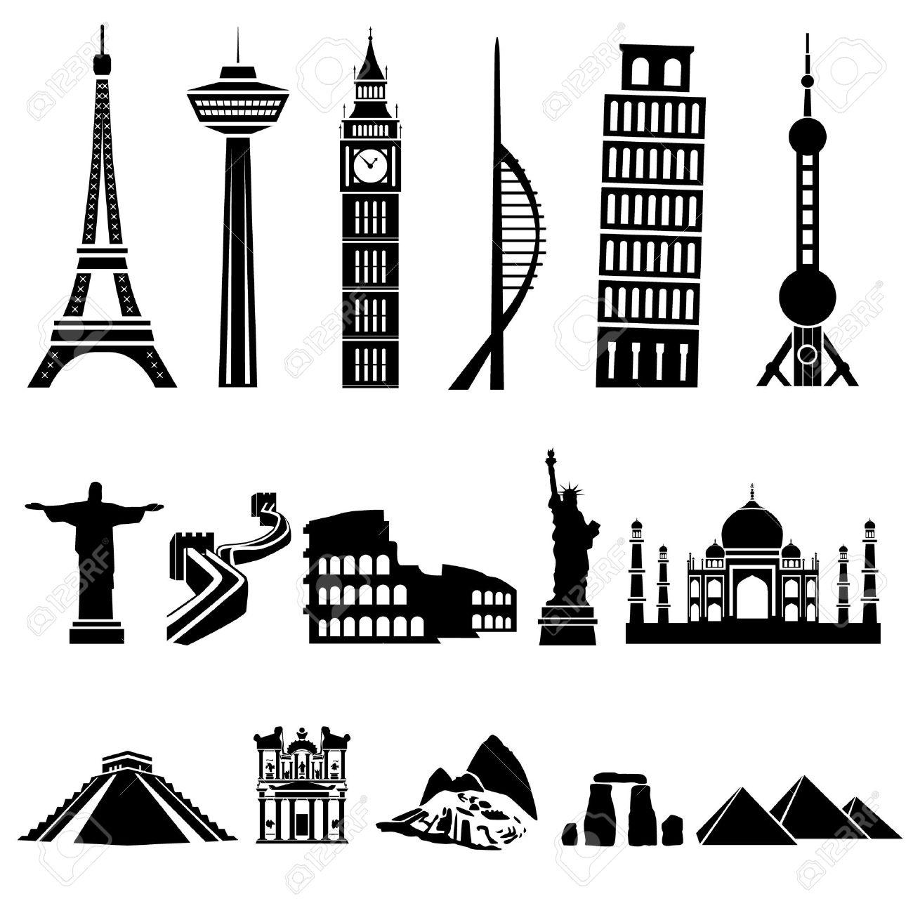 edificios del mundo foto de archivo