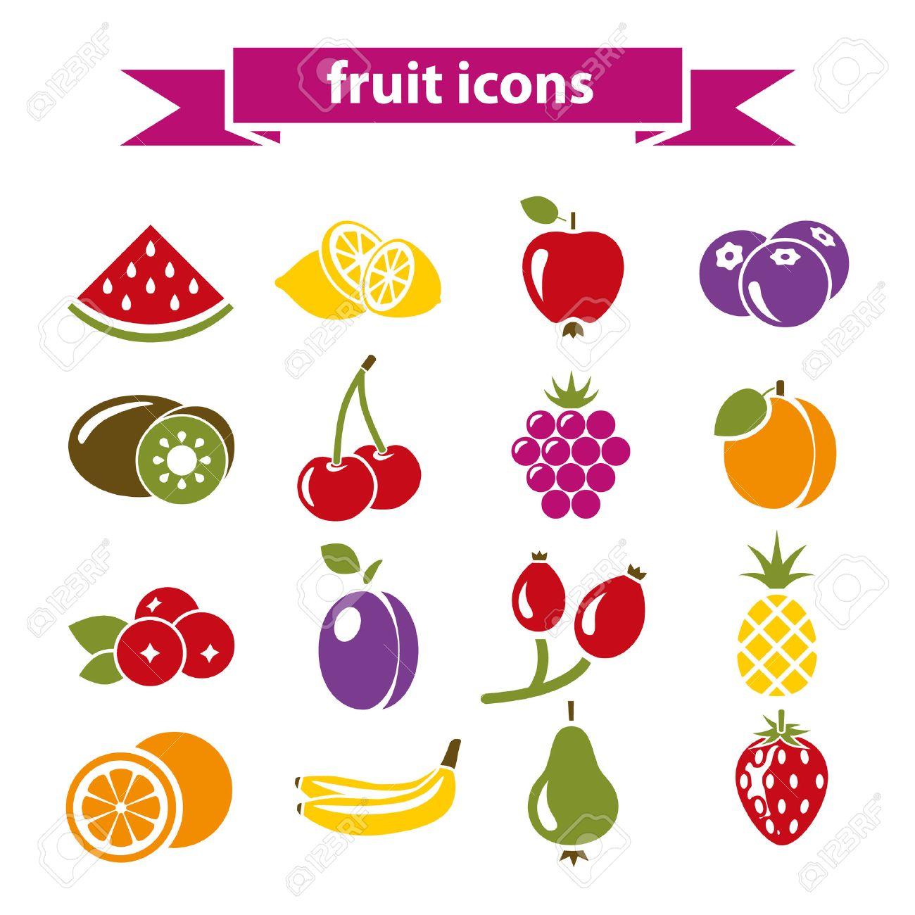 fruit icons - 30822874