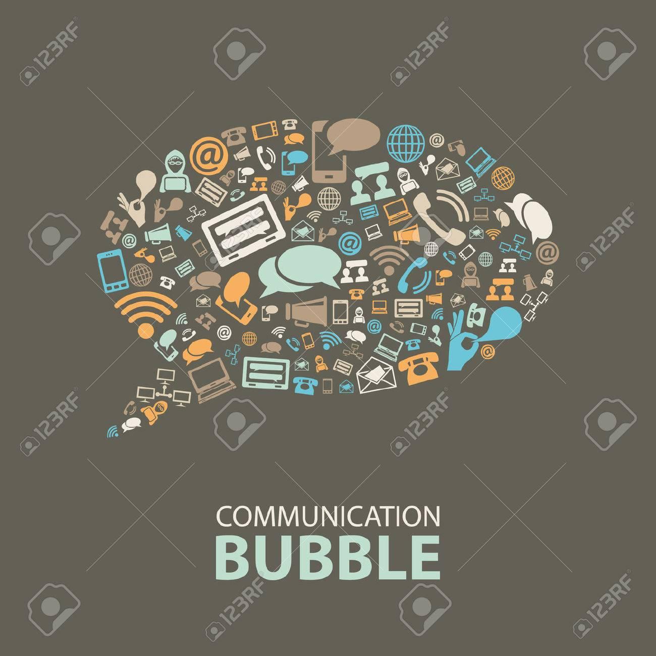 communication bubble - 37128447