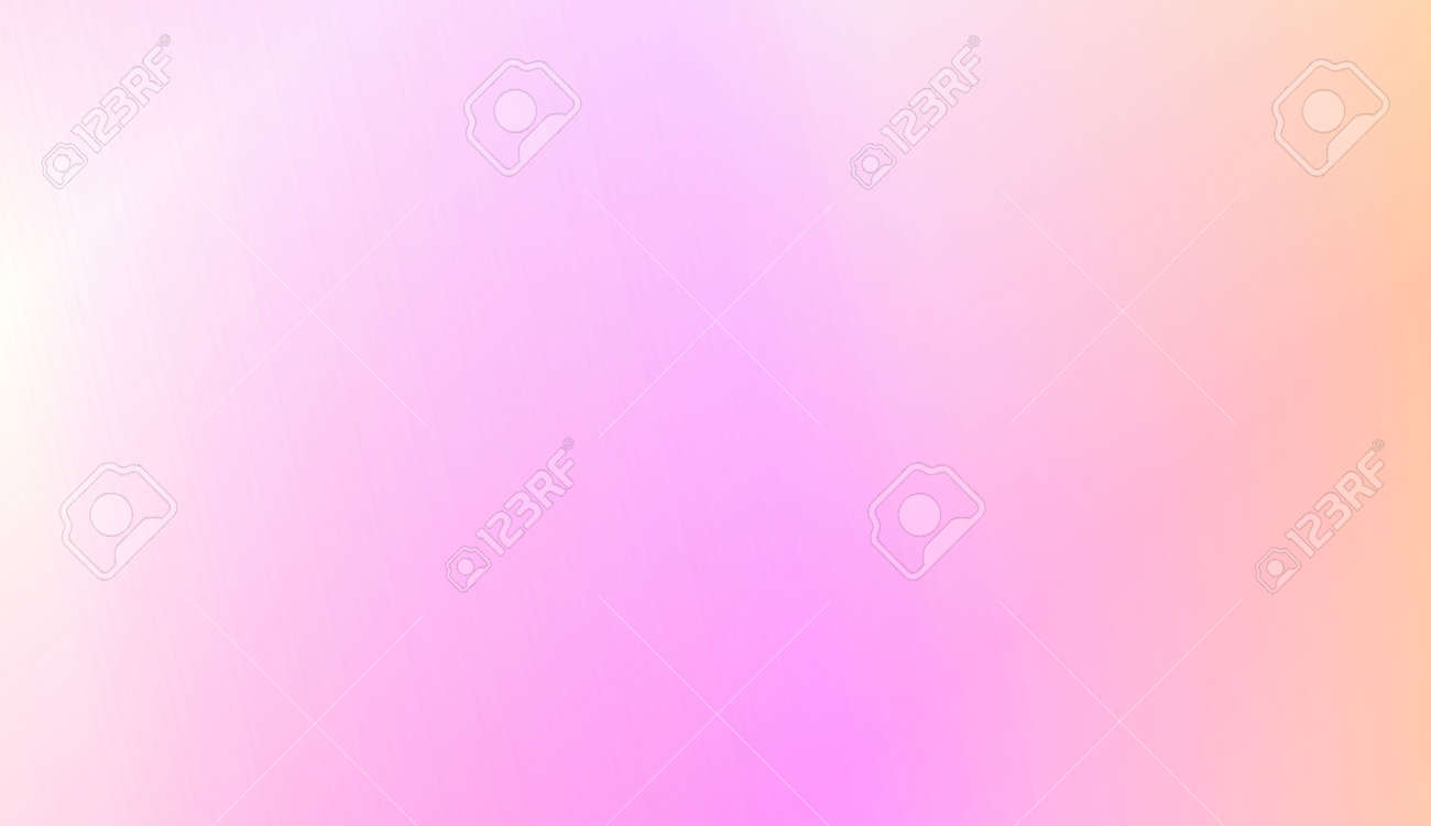 Blur Sweet Dreamy Gradient Color Background. For Ad, Presentation, Card. Vector Illustration - 125745094