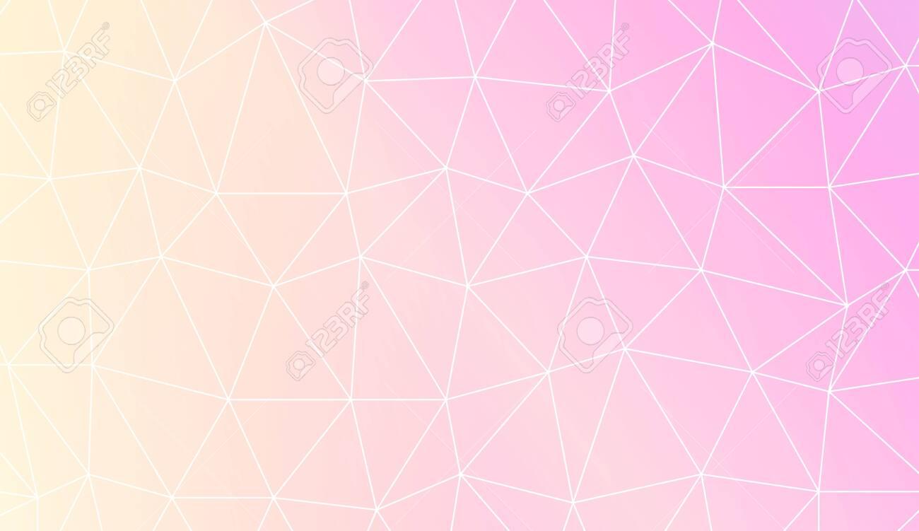 Modern Elegant Background With Polygonal Elements For Interior Wallpaper Smart Design Fashion Print Vector Illustration Creative Gradient Color