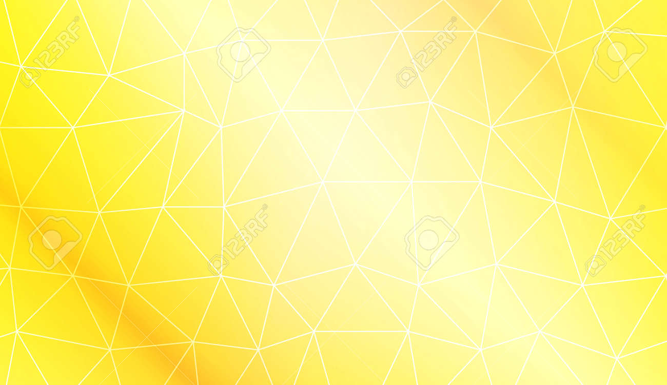 Modern pattern in polygonal pattern with triangles style. Decorative design For interior wallpaper, smart design, fashion print. Vector illustration. Creative gradient color - 123374675