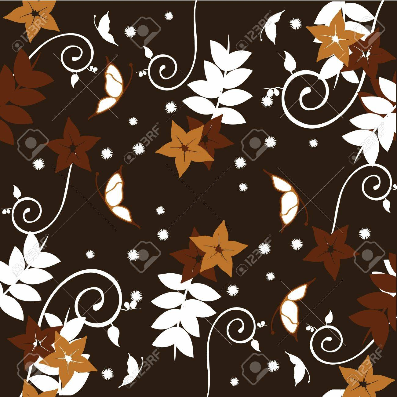 floral patterns for wallpaper, curtains, present paper and others Stock Photo - 13229597
