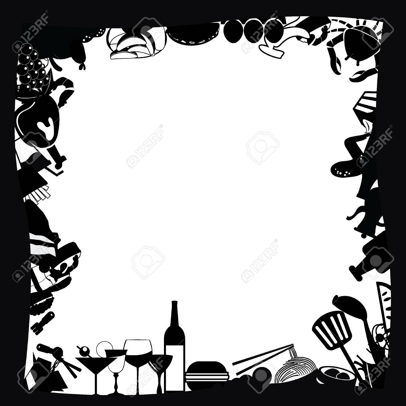 food icons for food stuff, restaurant, and others Stock Vector - 14349145