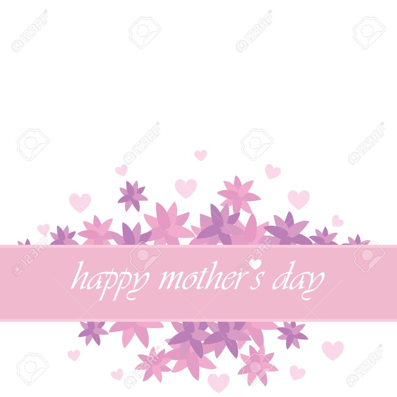 Mothers Day Card For Invitation Background Banners And Others – Mothers Day Invitation Cards