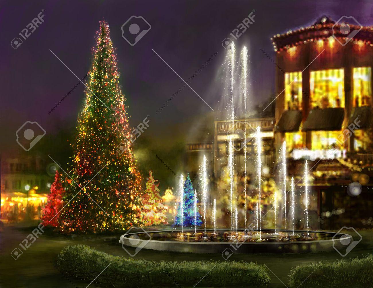 Christmas shopping, black friday,romantic place for dinner - 22759970