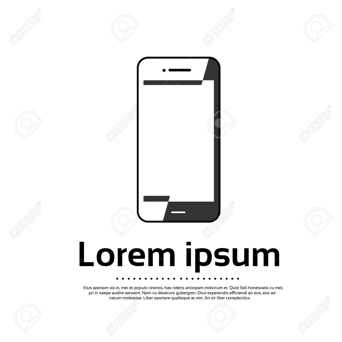 Generic Smartphone Logo Design - Free Clip Art