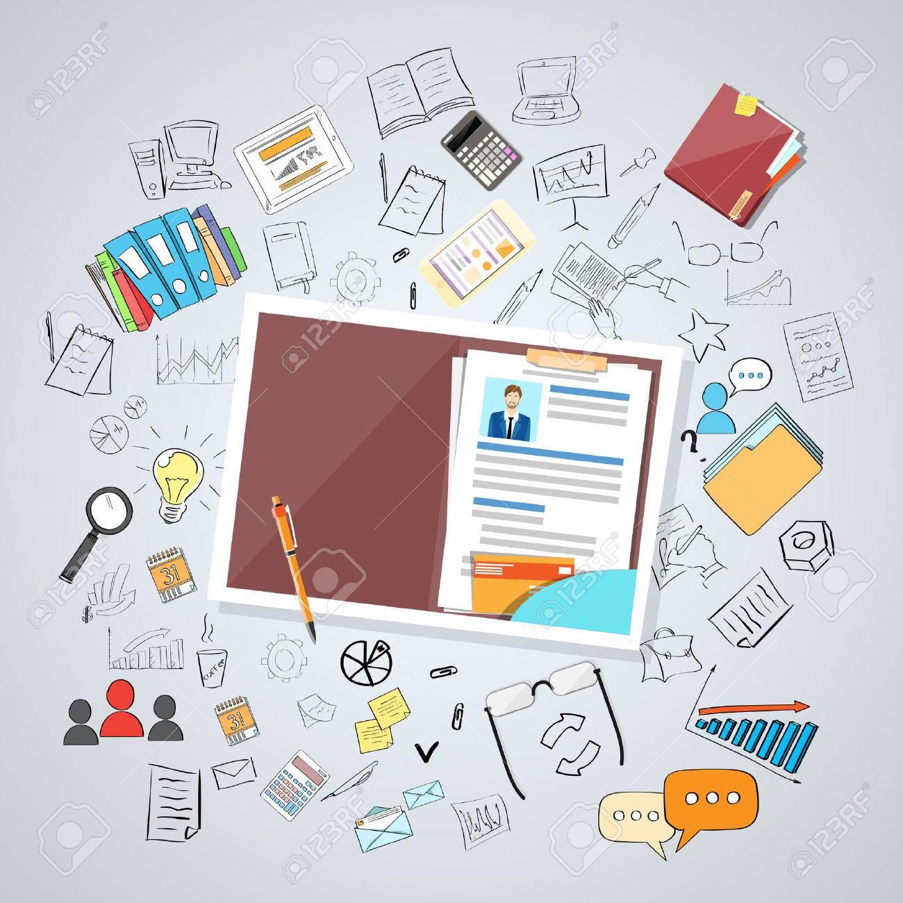 Human Resource Dokumente Lebenslauf Recruitment Candidate ...