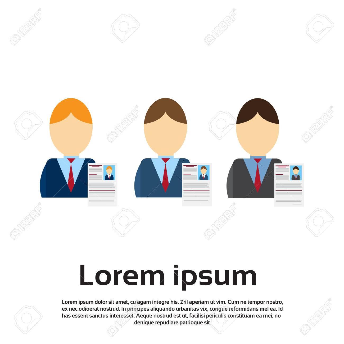Curriculum Vitae Reclutamiento De Posición Del Candidato De Trabajo ...