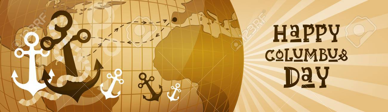Happy Columbus Day America Discover Holiday Poster Greeting Card.. on vibrant world map, kawaii world map, survival world map, fake world map, titanium world map, thank you world map, america's world map, nameless world map, distressed world map, scary world map, neutral tone world map, bunny world map, doodle world map, umbrella world map, silly world map, sick world map, evil world map, wealthy world map, spooky world map,
