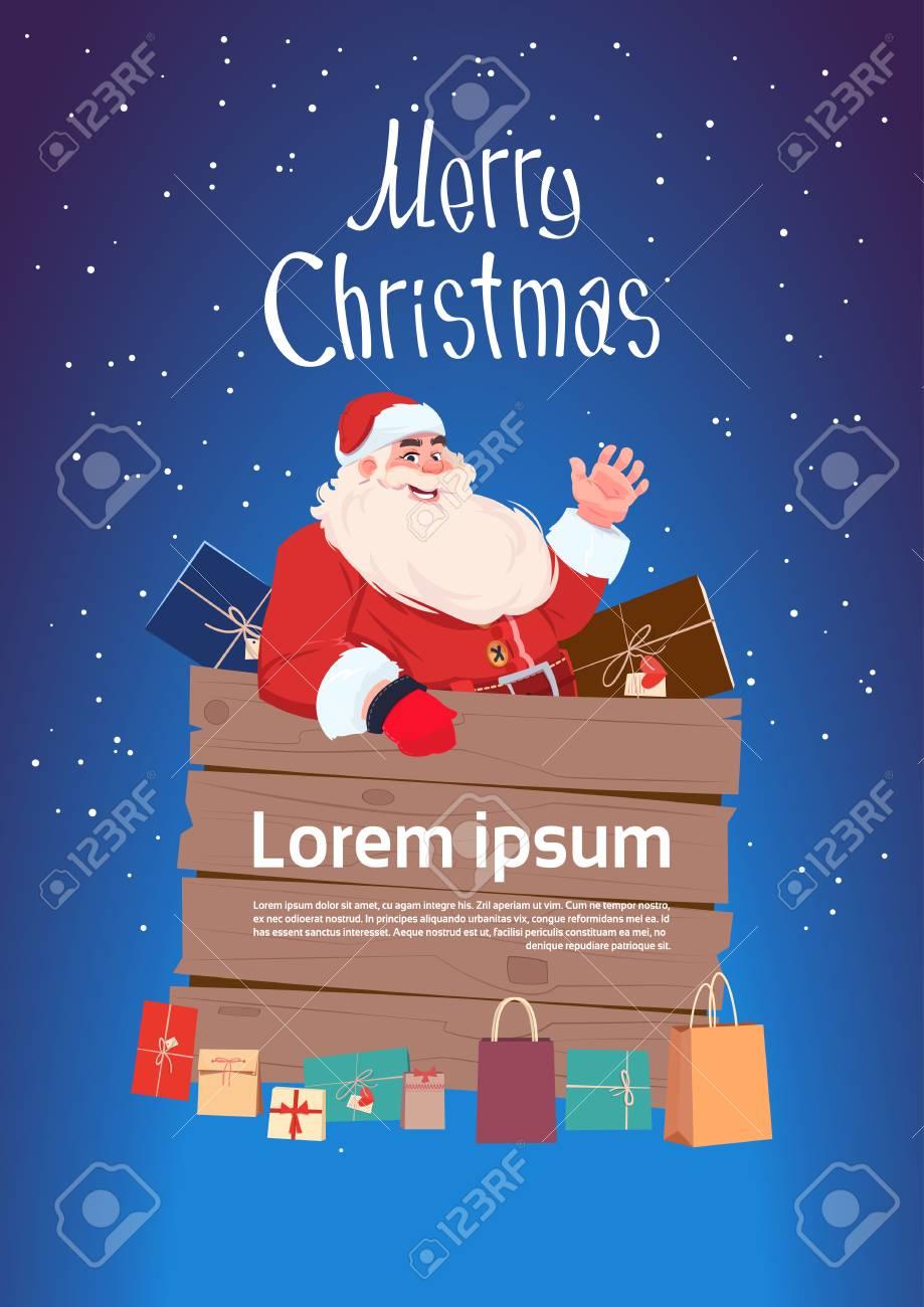 Frohe Weihnachten Und Guten Rutsch Ins Neue Jahr-Gruß-Karte Mit ...