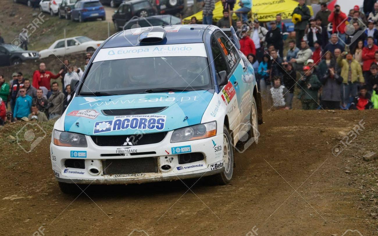 ALGARVE, PORTUGAL - MARCH 31: Ricardo Moura (POR) Driving Is.. Stock ...