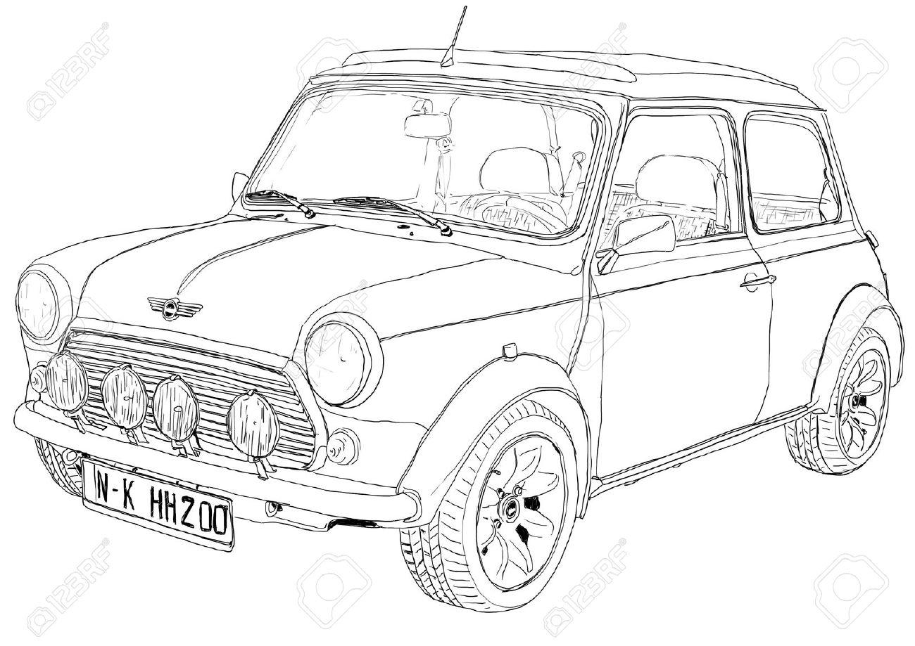 vintage car mini art - 13460481